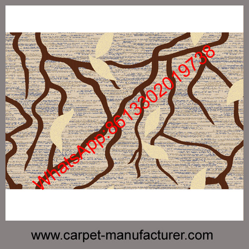 Wholesale Cheap China Machine made wool blended carpet rugs with PP backing