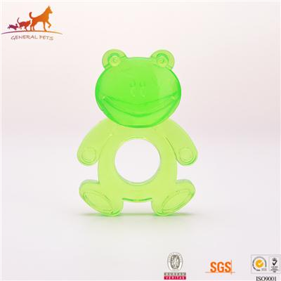Dog Chew Frog Shape Toy