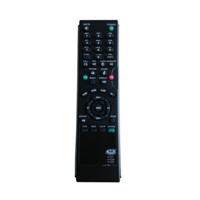 TV Remote Control For V-TFT V-CON V-UTD For India