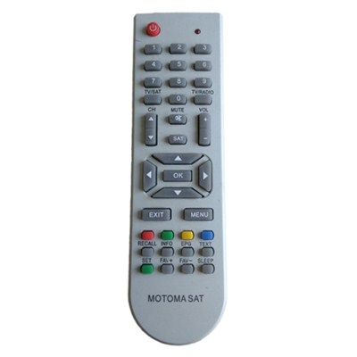 MOTOMA SAT LCD LED TV Remote Controller