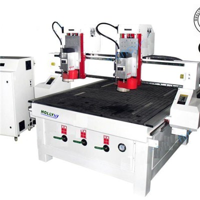 2 Heads Cnc Router Model:ymm1325