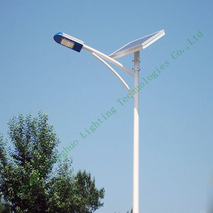 Single-arm Solar Street Light