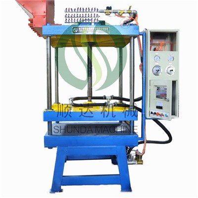 Semi-automatic Shape Molding Machine With Vacuum