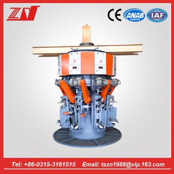 8 spouts automatic rotary cement packer