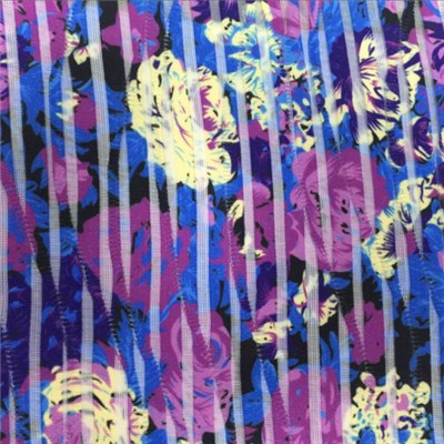 Printing Single Jacquard Knit Fabric