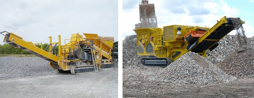 Mobile Impact Crusher/Mobile Screening Plant/Supplier of Mobile Crusher