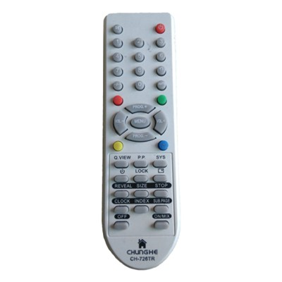 TV Universal Remote Control CHUNGHE CH-726TR For Indonesia Market