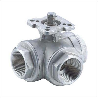Female Thread Tee Ball Valve