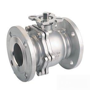 German Standard Flange Ball Valve
