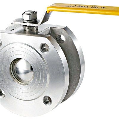Thin Type Flange Ball Valve