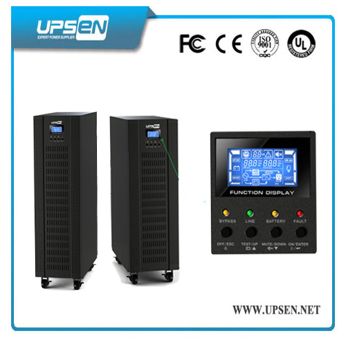 10k-40kVA Intelligent IGBT Three Phase UPS Uninterruptible Power Supply
