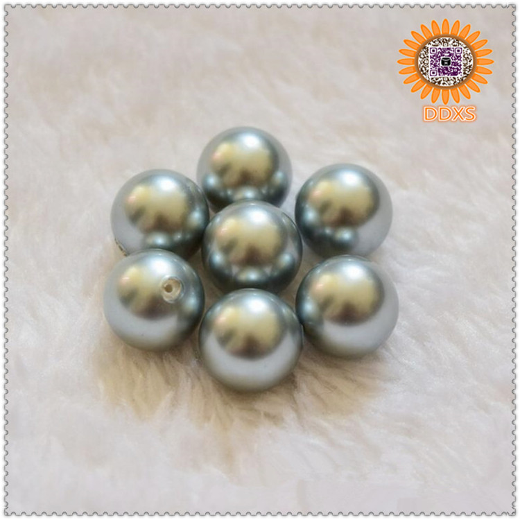 wholesale 3-22mm colorful loose shell pearl