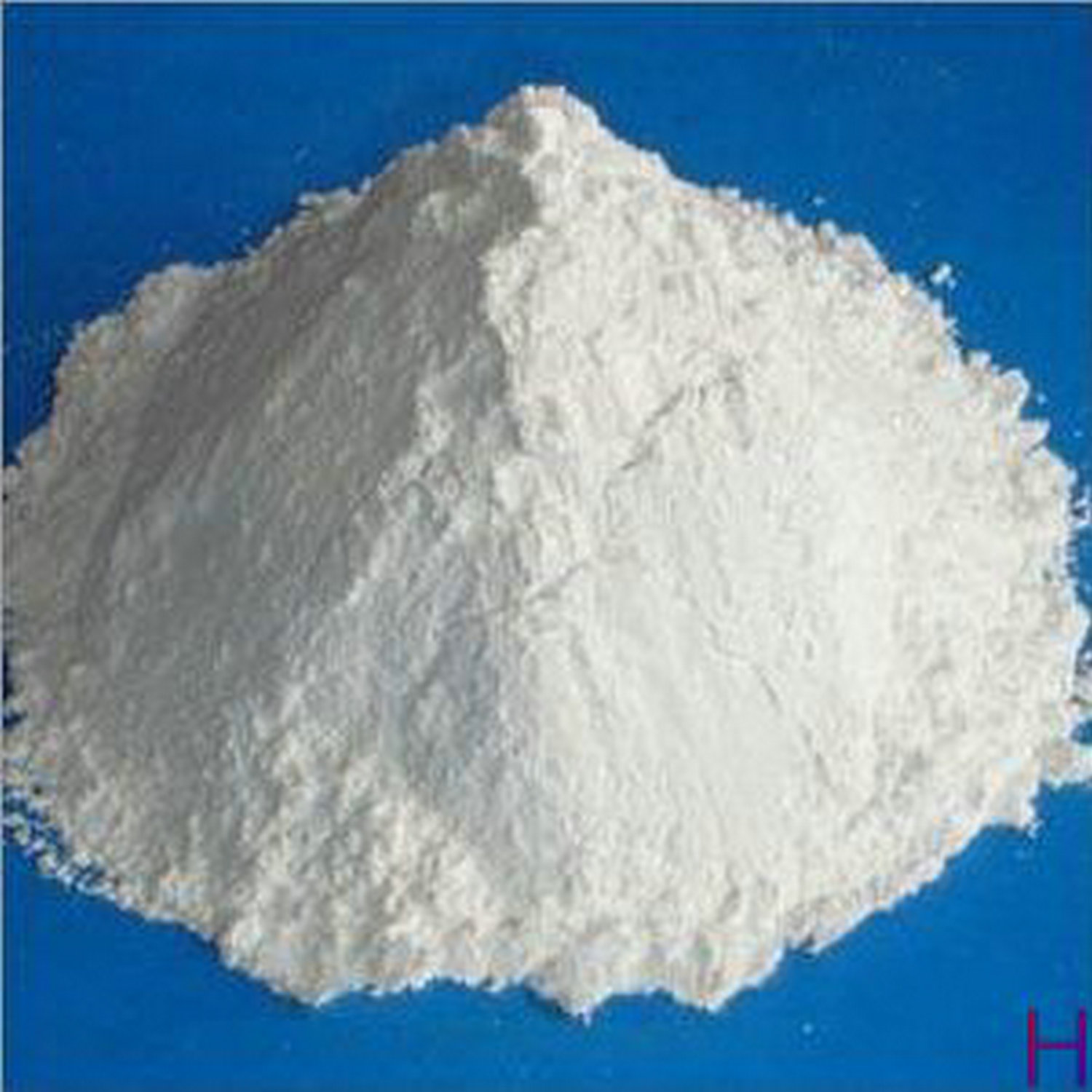 Calcium carbonate powder for glass industry