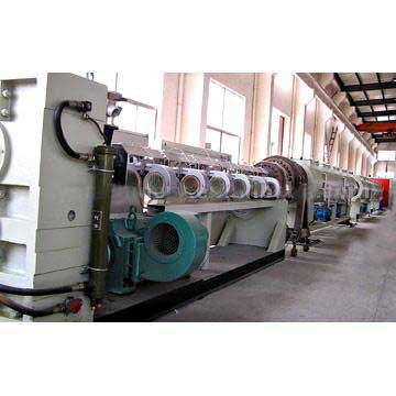 Various plastic pipe/sheet/plate/film/profile extrusion line