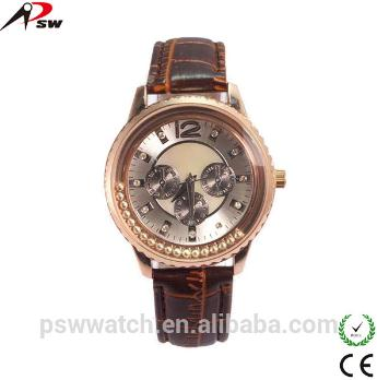 Alloy Leather Watch
