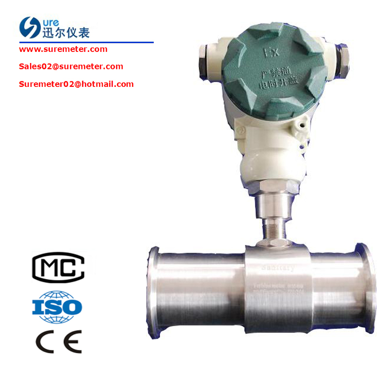 Gas Turbine Flow Meter LWQ Series For Natural Gas/Compressed Air
