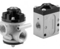 Numatics solenoid NF Series Poppet Valve - Air Pilot Actuated