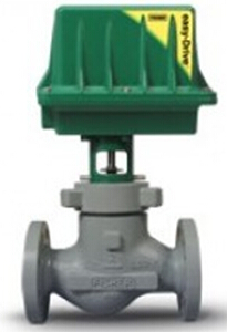 Fisher Electric Actuators Baumann NV electric control valve series
