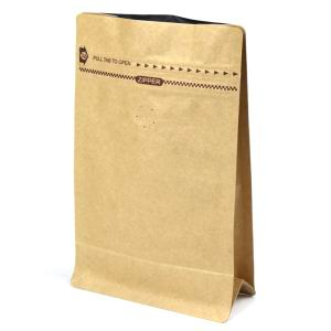 Kraft Coffee Bag With Valve