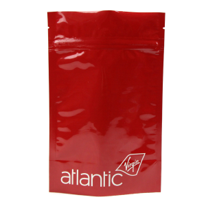 Red Aluminum Foil Stand Up Zipper Bags