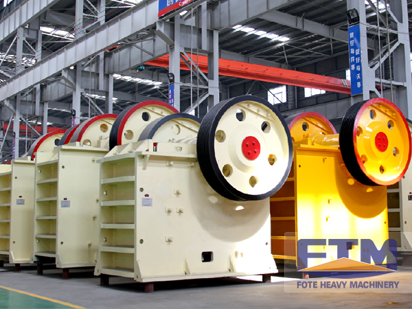 Progresses of FTM Crusher Company on Chassis Plane