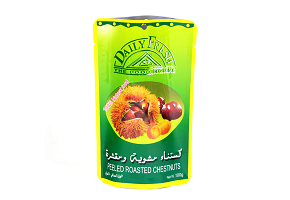 Stand Up Roasted Chestnuts Pouches