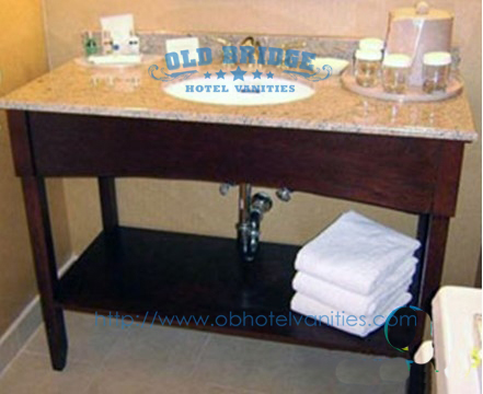 hot sell hotel bathroom sink base mdf wooden cabinet