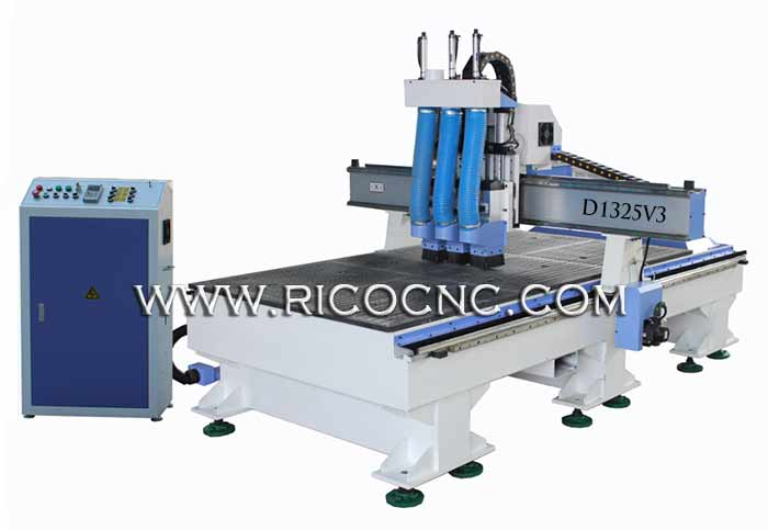 Nest CNC Routing Machine for Plywood Furniture 3D Cutting and Carving D1325V3