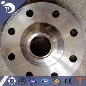 DN80 PN16 Customed Titanium Flange