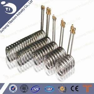 Titanium Heat Exchanger Coil For Aquarium