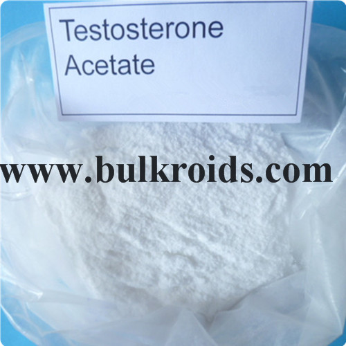 Raw Steroids Hormone Powder Testosterone Acetate for Muscle Growth