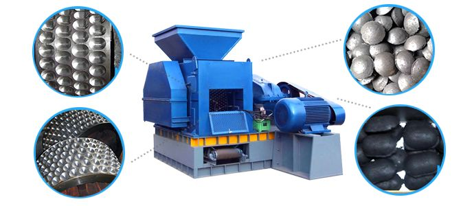 Charcoal Briquette Press/Charcoal Briquette Machine/Charcoal Briquettes Making Machine