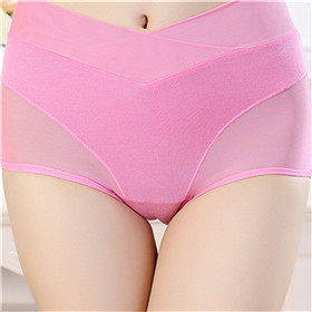 Breathable Seamless Underwear Physiological pants leak-proof women panties high waist briefs