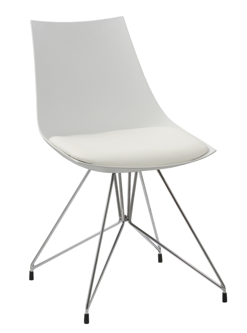 Dining chair JR-7026SWhite