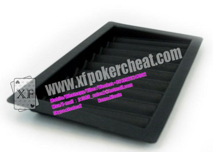 Poker Table Chip Tray Camera , Marked Playing Cards Poker Predictor