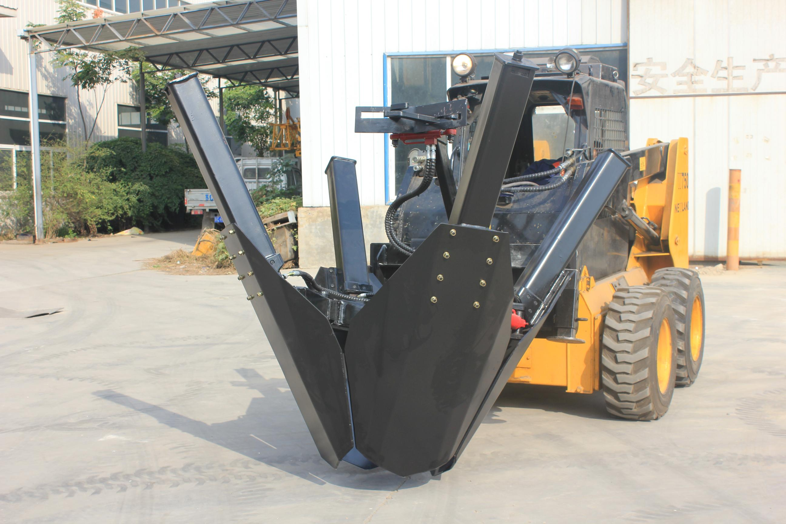 HCN brand 0503 series transplanter for skid loaders