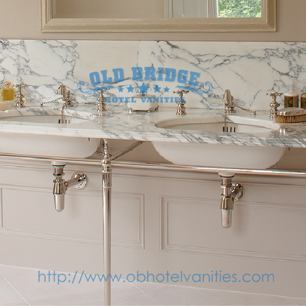 Bathroom Vanities with Metal Legs