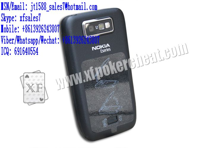 XF New style Nokia mobile phone video phone to work with poker cheat cameras  / mini camera with Bluetooth / seca game / Poker Analytic Software / Wireless Transmitter / Marked cards