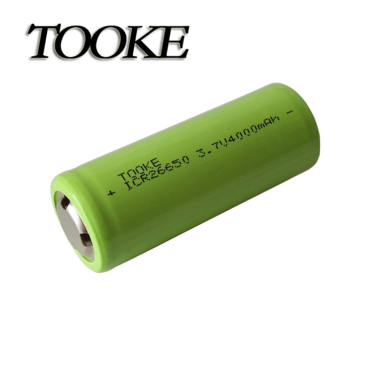 TOOKE 26650 3.7V 4000mAh Rechargeable Li-ion Battery With Protection Module