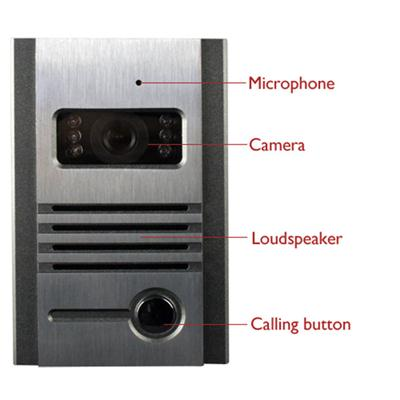 7 Inch Color TFT LCD Video Door Phone