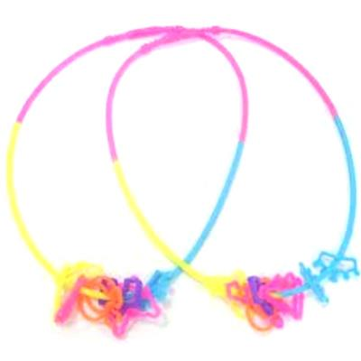 Silicone Necklace With Rings
