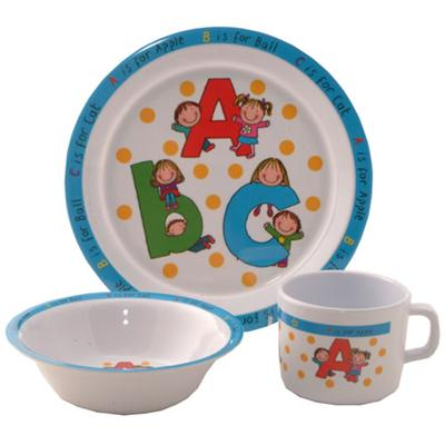 Kids Melamine Dinnerware Set