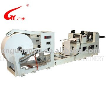 Cleaning Paper Embossing Machine