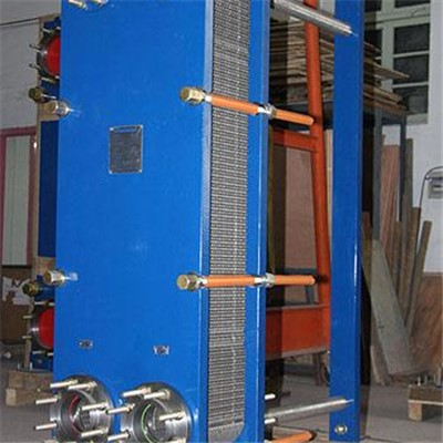 Free Flow Plate Heat Exchanger For Caustic Soda