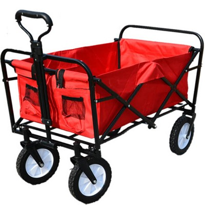 folding wagon without canopy
