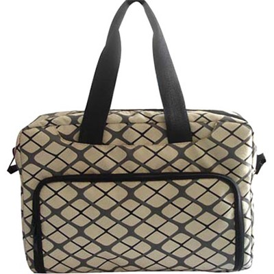 Printed PVC Leather Waterproof Laptop Bag