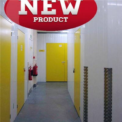 Single Skin Hinged Door For Storages And Warehouse