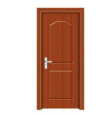 PVC Door With Decoration Glass