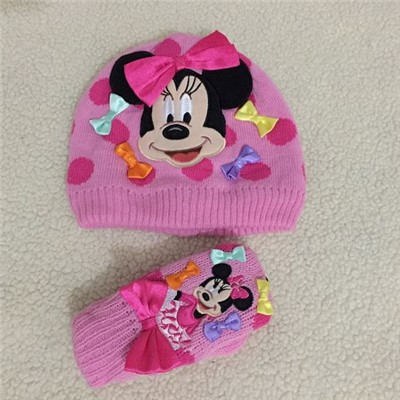 Minnie Mouse Hat With Colorful Bows