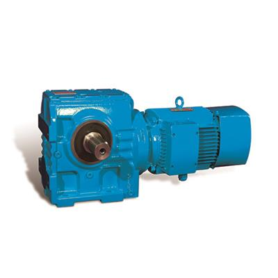 Kf Series Helical Gearbox With Solid Shaft